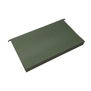 AL hængemapper Folio 30mm bund, Grøn