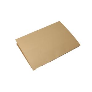 Indlægsmapper A4 Folio med forskudt kant