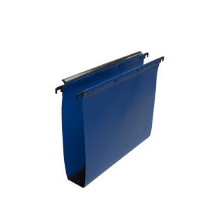 hængemapper med 80 mm bund, Blå
