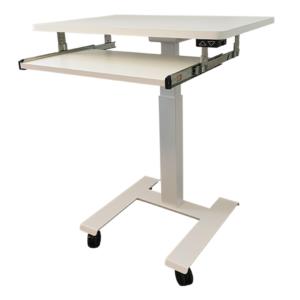 Elektrisk bord med tastaturforlængelse