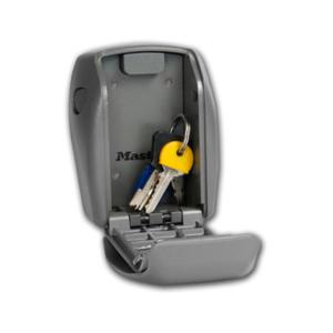 Nøglebokse med plads til et par nøgler